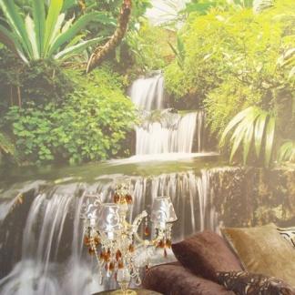Πάνελ με πανί εκτυπωμένο (τροπικό δάσος)