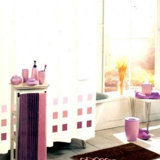 Υφασμάτινη κουρτίνα μπάνιου Guy Laroche, με trucks και μαγνήτες