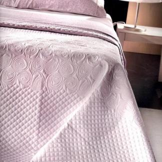 Ημίδιπλο Κουβερλί Ροζ Guy Laroche Fancy Lilac