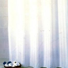 San Lorentzo Κουρτίνα Μπάνιου DIAMOND Απλή Λευκή 180*200