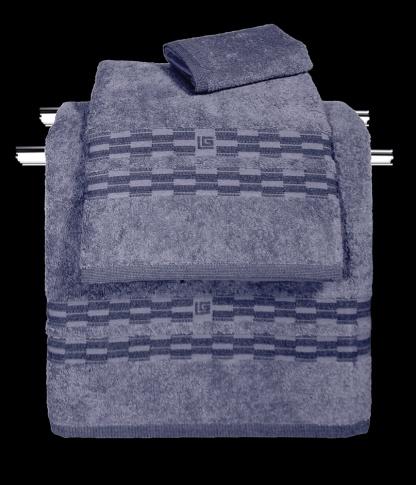 Πετσέτες Μπάνιου Μπλε Guy Laroche