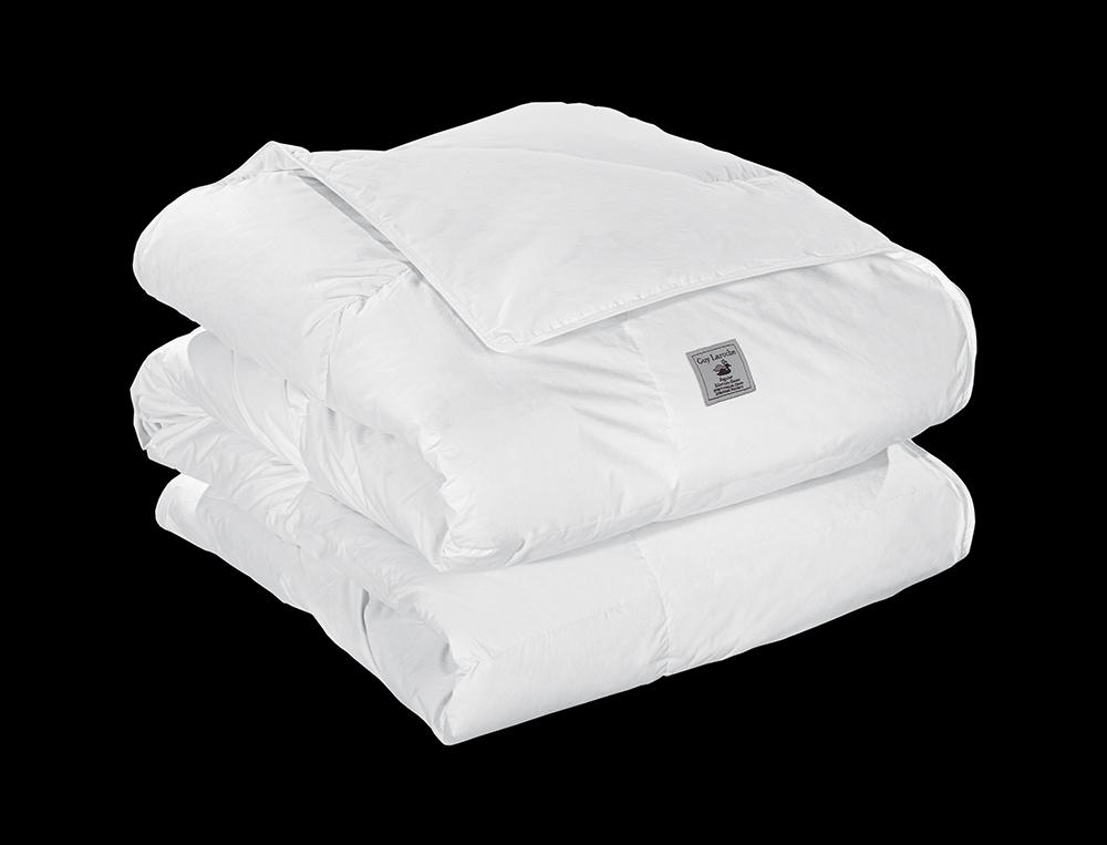 Πουπουλένιο πάπλωμα Guy Laroche με ύφασμα cotton percale, σε χρώμα λευκό