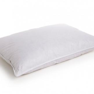 Πουπουλένιο μαξιλάρι με βαμβακερό ύφασμα, εξαιρετικά απαλό