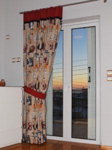 Κουρτίνα για το γραφείο, χονδρή χωρίς διαφάνεια - κουρτινόξυλο Guy Laroche