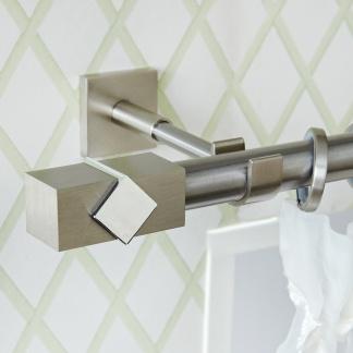 Κουρτινόξυλο aslanishome Caldera Metal Φ25 Νίκελ Σατινέ