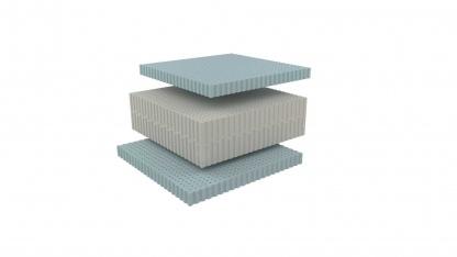 Celsion, ανώτερης ποιότητας ανατομικό στρώμα, ύψους 23cm, μέτριο/σκληρό