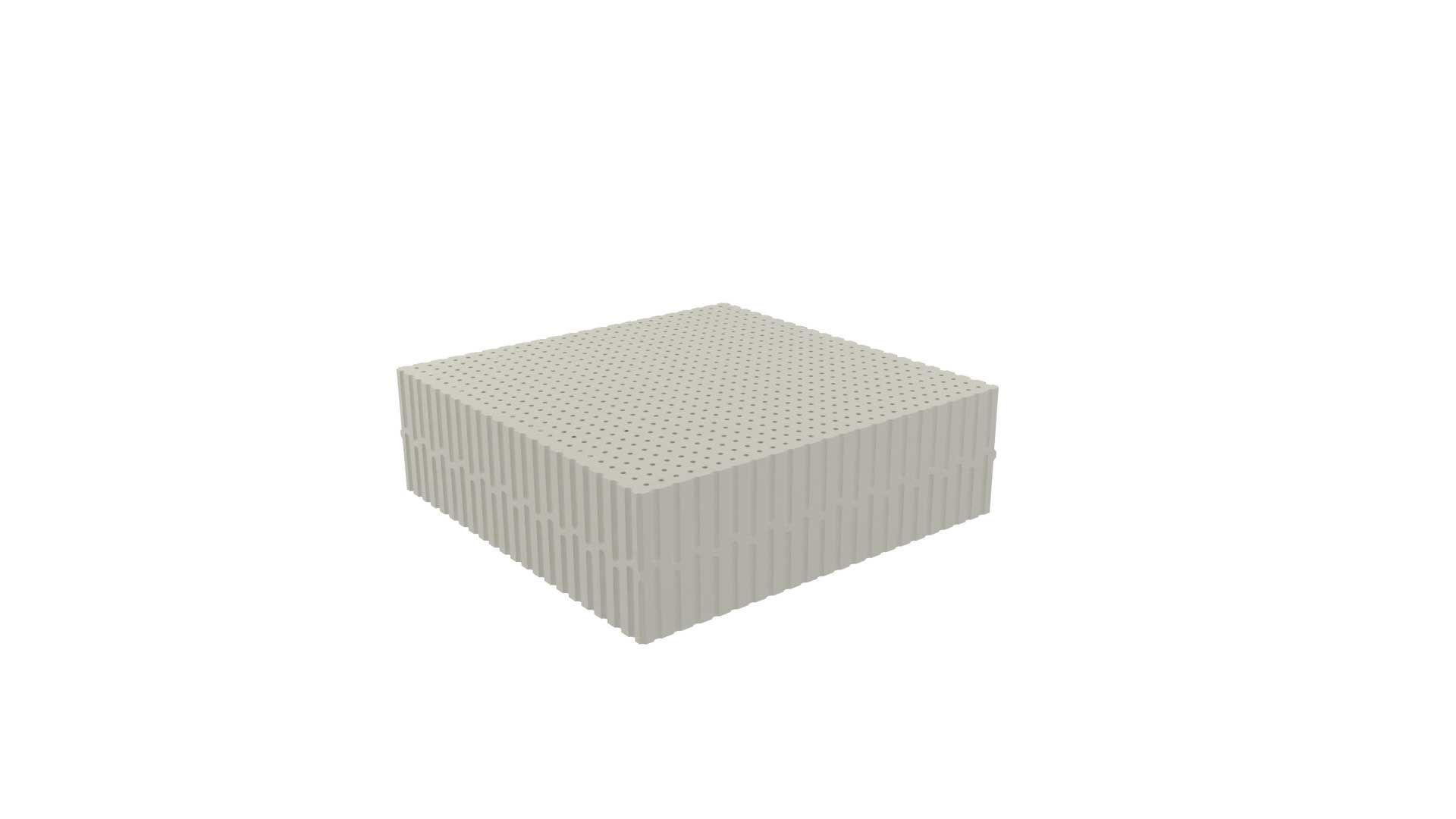 Dunlopillo High Ivoryανατομικό στρώμα, ύψους 17cm, μέτριο
