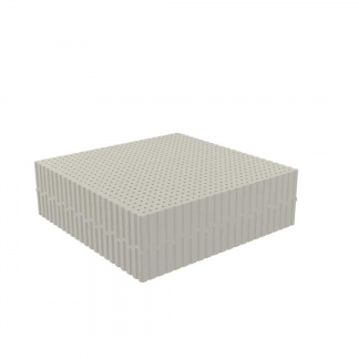 Dunlopillo Στρώμα Medium Gray, ανατομικό στρώμα σκληρό