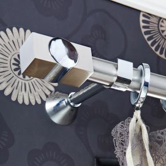 Κουρτινόξυλο aslanishome Movie Metal Φ30 Νίκελ Σατινέ