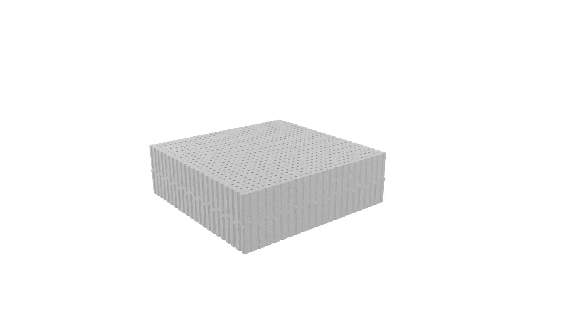Στρώμα Κούνιας Dunlopillo Plain Gray Baby