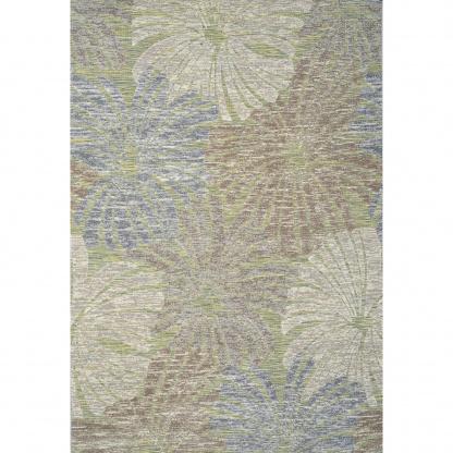 Πράσινο Χαλί Καλοκαιρινό Φλοράλ Colore Colori Mambo 16272/40
