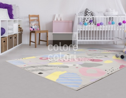 Υποαλλεργικά Παιδικά Χαλιά Πιστοποιημένα για την Υγεία Colore Colori
