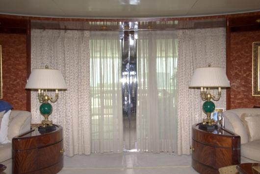Κουρτίνα σε σκάφος (σαλόνι) - Κατασκευή Πάσχος