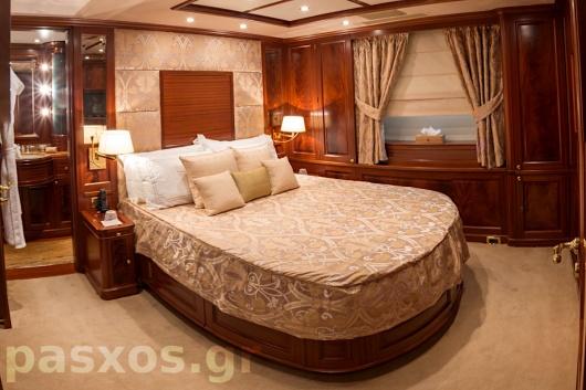 Κουρτίνες, ρόμαν, καλύμματα, επενδύσεις σε σκάφος - master bedroom