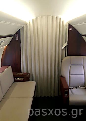 Κουρτίνα σε αεροσκάφος - σχέδιο, κατασκευή: Πάσχος