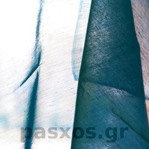 Τρεβίρα (ύφασμα trevira, διαφανής ποιότητα, χωρίς σχέδια, δείγμα κουρτίνας)