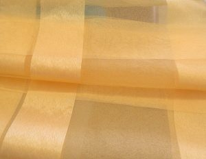 Κίτρινη, Διάφανη, Αέρινη Οργάντζα
