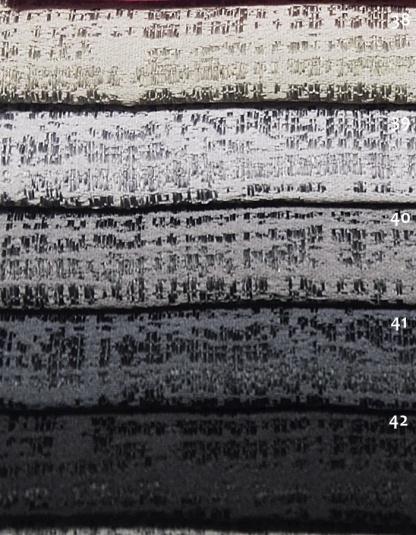 Μοντέρνο Ζακάρ Ύφασμα για Μονόχρωμη Κουρτίνα Γκρι, Μαύρο - Mexico