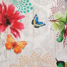 Καραβόπανο Panama Floral Mercuri
