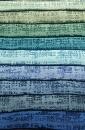 Μονόχρωμο, Λαμπερό Ζακάρ Ύφασμα για Μοντέρνες Γαλάζιες και Πράσινες Κουρτίνες Κάθε Χώρου