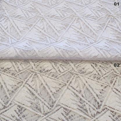 Λευκή Δαντέλα Κουρτίνας 3013