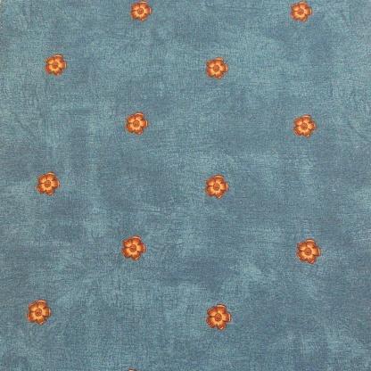 Ύφασμα Λέτα 4914/2 Μπλε Φλοράλ