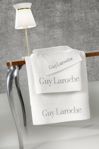 Λευκές Πετσέτες Guy Laroche Σετ τριών τεμαχίων