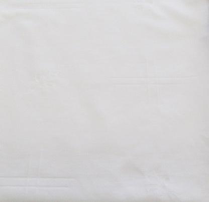 Ύφασμα Κουρτίνων Βαμβακοσατέν Λευκό
