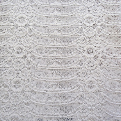 Δαντέλα λευκή για κουρτίνες Ισπανίας 4807/1