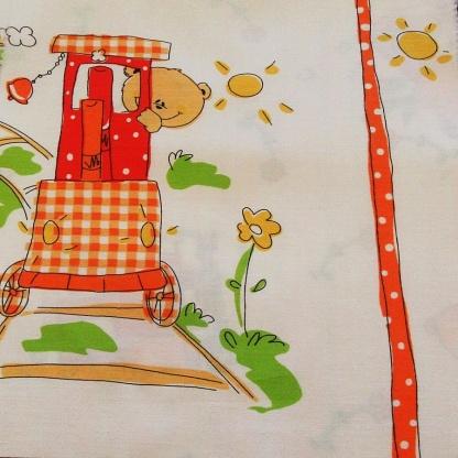 Ύφασμα για Παιδικό Δωμάτιο Βαμβακοσατέν Maya.A29