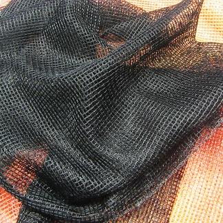 Υφάσματα Κουρτίνων - Μαύρο Δίχτυ