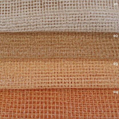 Διχτυωτή Κουρτίνα Ocean Μονόχρωμη Pasxos