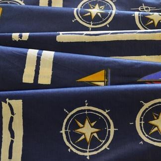 Ναυτική Κουρτίνα Μπλε Marine