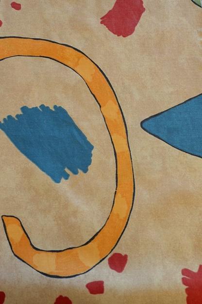 Μαλακό Βαμβακοσατέν Ύφασμα με Σχέδια για Μαξιλάρια Παιδικού Δωματίου