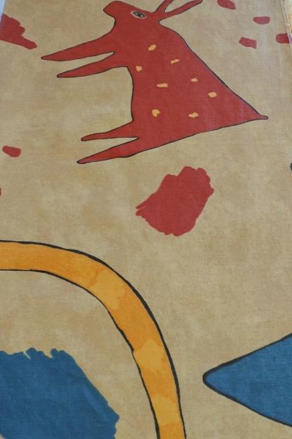 Βαμβακοσατέν Ύφασμα με Σχέδια για Διακόσμηση Παιδικού Χώρου