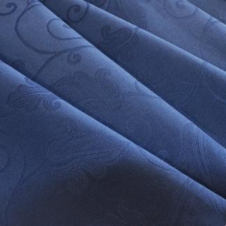 Λουλουδάτο Γαλάζιο Ζακάρ για Έπιπλα