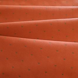Πουά Ύφασμα Πορτοκαλί - Pasxos