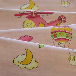 Υφάσματα με Παιδικά Σχέδια για Κουρτίνες