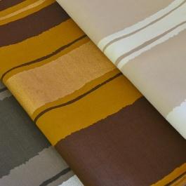Ριγέ Πλαϊνά Κουρτίνας σε Τρεις Μοντέρνους Χρωματισμούς