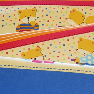 Μαλακά Υφάσματα με Χαρούμενα Χρώματα και Σχέδια για τις Παιδικές Κουρτίνες