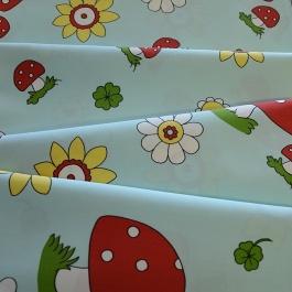 Ύφασμα για Παιδικό Δωμάτιο με Λουλουδάκια