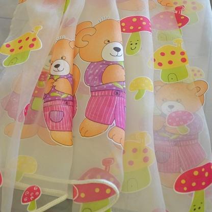 Κουρτίνες για το Παιδικό Δωμάτιο με Χαρούμενα Print