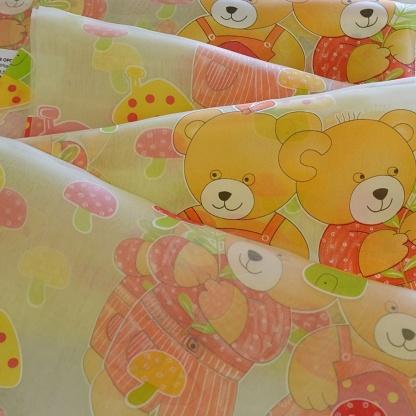 Ανάλαφρη Οργαντίνα για Παιδικό Δωμάτιο, σε Ουδέτερους Χρωματισμούς