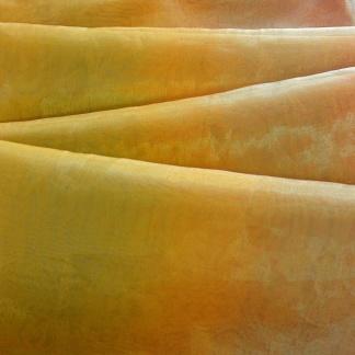 Κίτρινο Ύφασμα για Φλούο Κουρτίνα