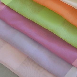 Χρωματιστό Ύφασμα Βουάλ Κουρτίνας