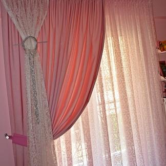 Ρομαντικές Κουρτίνες Κρεβατοκάμαρας