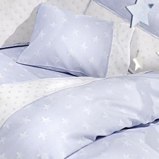 Γαλάζια Μωρουδιακά Σεντονάκια με Αστέρια