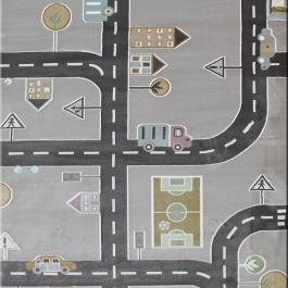 Χαλί Αυτοκινητόδρομος για Παιδικό Δωμάτιο