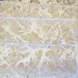 Λαμπερή Δαντέλα για Κουρτίνες Σε Χρώμα Εκρού - Matrix