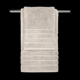 Μπεζ Βαμβακερές Πετσέτες Μπάνιου Guy Laroche Mezzo Beige
